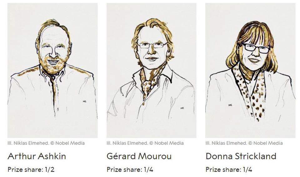 Premi Nobel per la Fisica