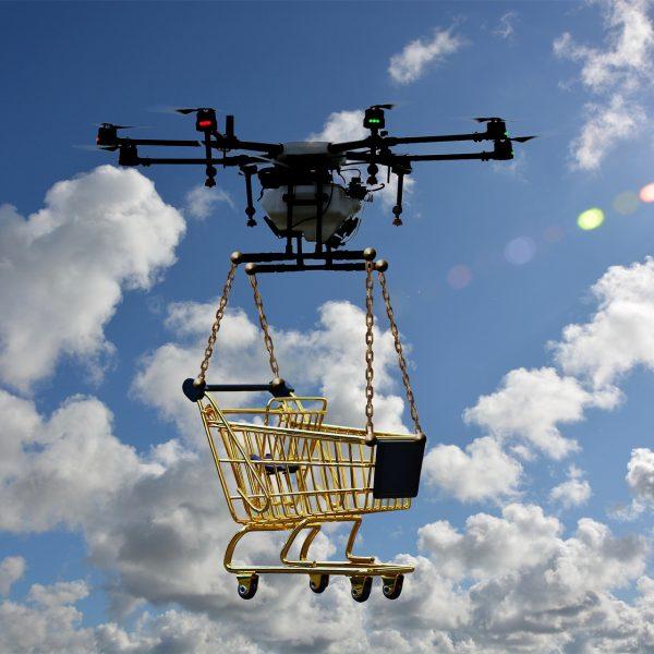 Consegna farmaci con drone
