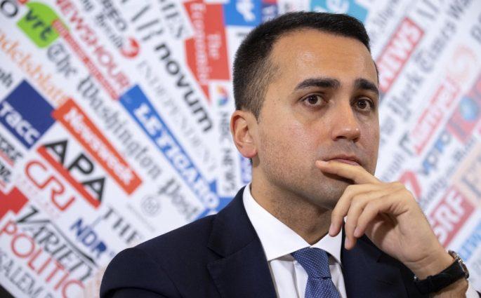 Di Maio Ministrodegli esteri furioso per lo spot francese pizzacoronavirus