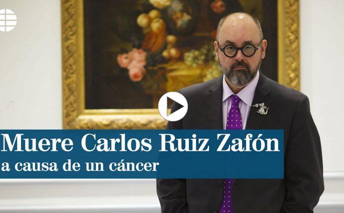 Carlos Ruiz Zafn morto a 55 anni a causa di un tumore