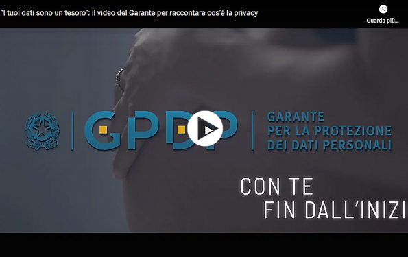 Garante per la protezione dei dati personali - Video 2021