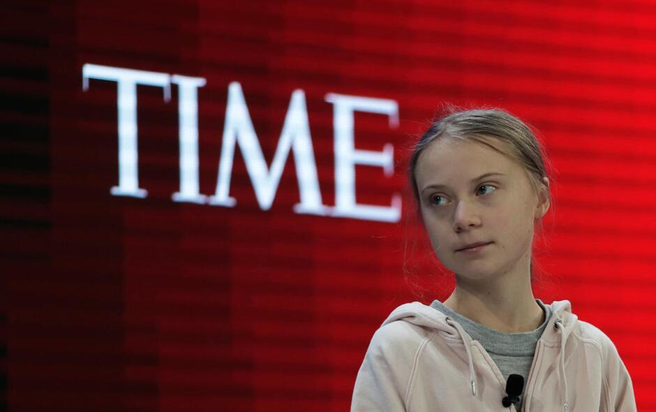 Greta Thumberg - Premio Time Magazine come Person of the Year 2019